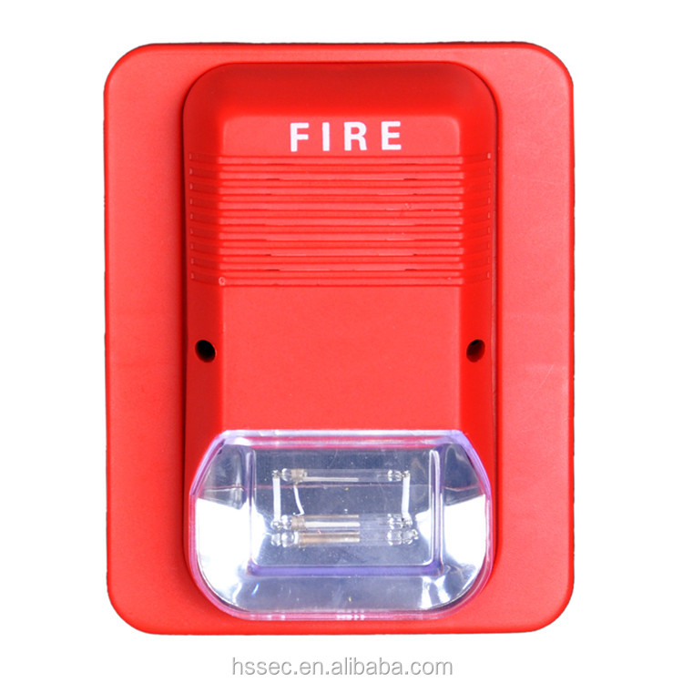 Export Sound and Flash Fire Strobe Sounder for fire alarm products