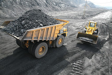 The project of coal mining in Kuzbass