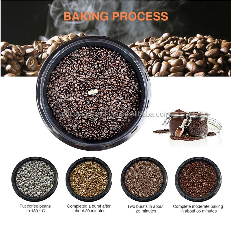 2019 yeni ürünler ev kahve çekirdeği kavurma