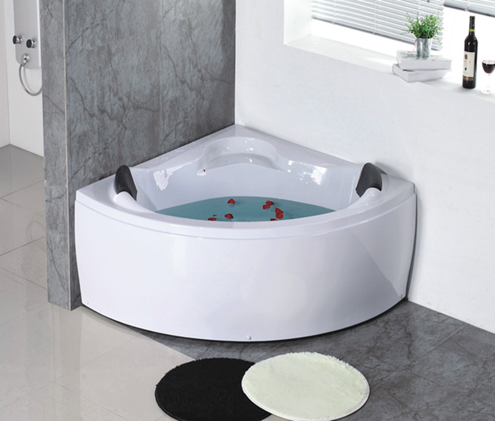 Cheap family bathroom small corner bathtub buy small for Small baths 1300