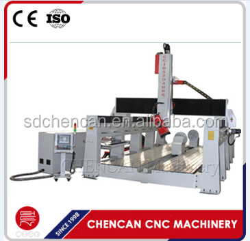 Spindle Rotating 4Axis CNC Foam Wood Mould Machine Engraver Machine CNC Router with 4th Rotary