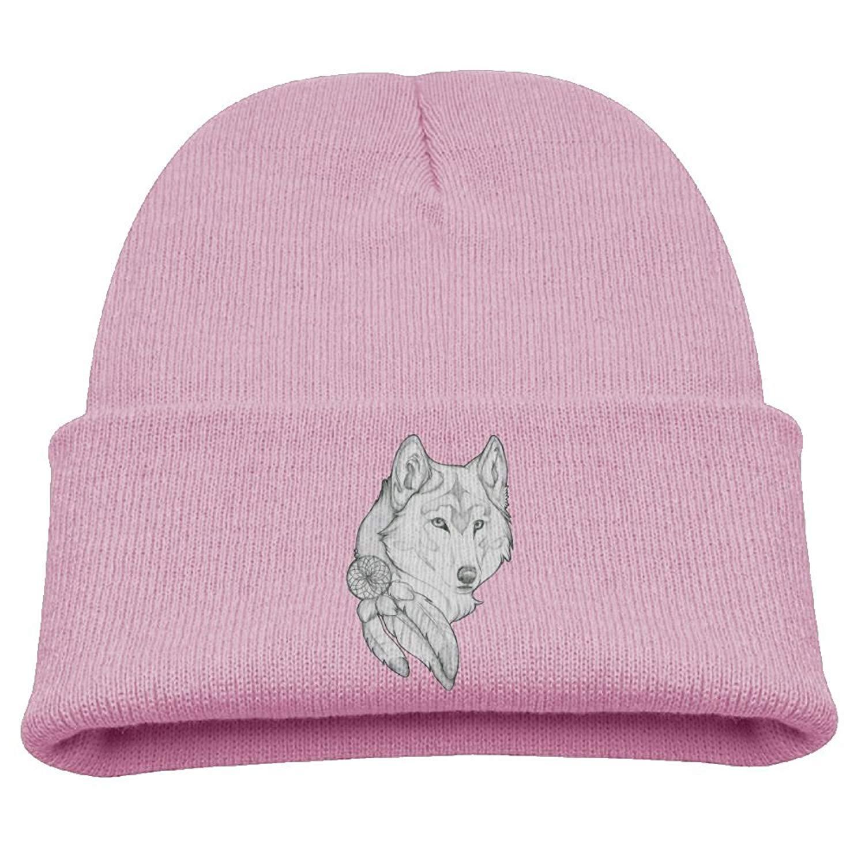 1ed5f46ec3d Get Quotations · D8s Caps Indian Catcher Wolf Infant SOF Hat Cute Cotton Cap  Beanies