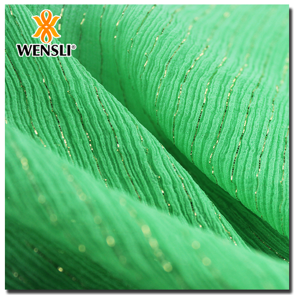 silk linen blend fabric China Wholesale High Quality Silk Chiffon Fabric Metallic