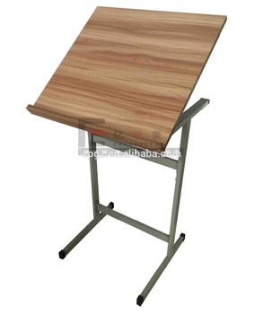 2017 High Quality Student Adjustable Folding Drawing Table Wooden  Engineering Drafting Table Hardware For Sale