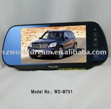 "7"" LCD CAR REVERSE MIRROR COLOR MONITOR"