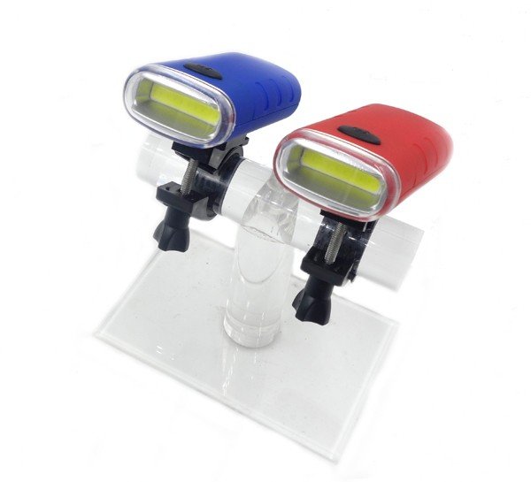 3 Modes Red And Blue Bicycle Light With Warning Function