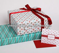 60g LWC paper//printed gift paper wrap//custom gift wrapping paper