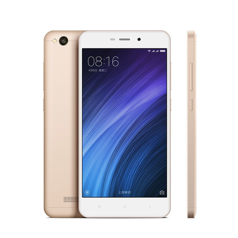 "Original Xiaomi Redmi 4A Snapdragon 425 Quad Core 2G RAM 16G ROM FDD LTE 4G 5"" 13MP MIUI 8.1 OTA Mobile <strong>Phone</strong> Global ROM"