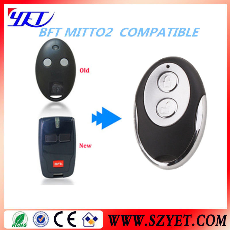 Replacement BFT MITTO 2 Remote for garage door