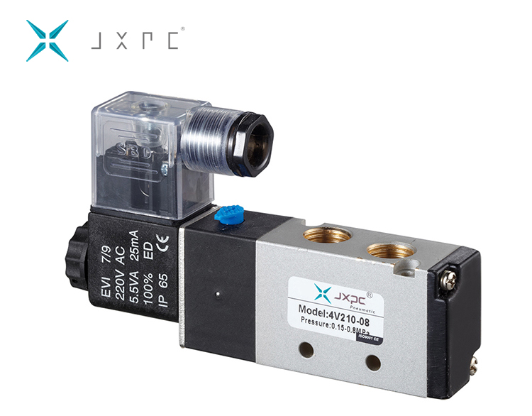 4V210-08 DC24V 5-Way 2 Posisi Pneumatic Air Solenoid Valve
