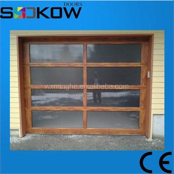 Wood imitation aluminum glass doorglass garage doors wood imitation wood imitation aluminum glass doorglass garage doors wood imitation framealuminum frame wood planetlyrics Gallery