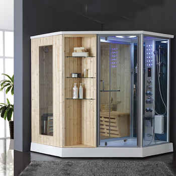 Hs Sr079 Steam Room Sauna Wood Bath Shower Combos Product On