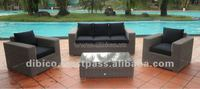 Modern Outdoor Wicker Sofa Set 2012/ new model design garden furniture