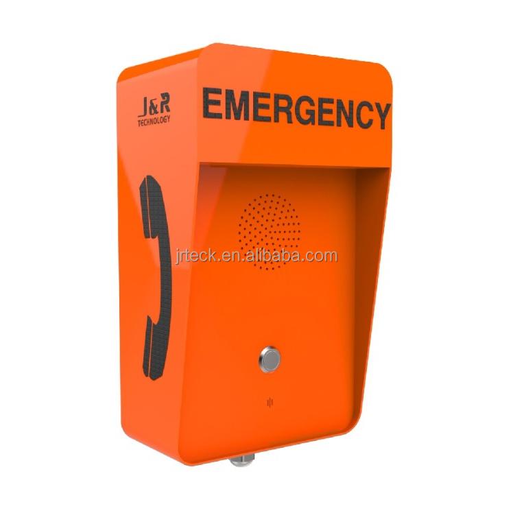 Vandal-proof Freisprecheinrichtung GSM Notruf Box für Outdoor, Robuste Am Straßenrand 3G Notfall Telefon