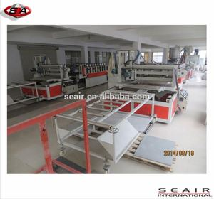 injection molded wpc, WPC Wide Board Making Machine, PVC Panel Making Machine