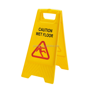 yellow warning sign traffic warning sign plastic safety sign