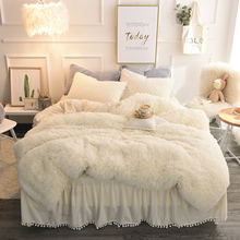 Custom white designer warm winter coming home bedding set