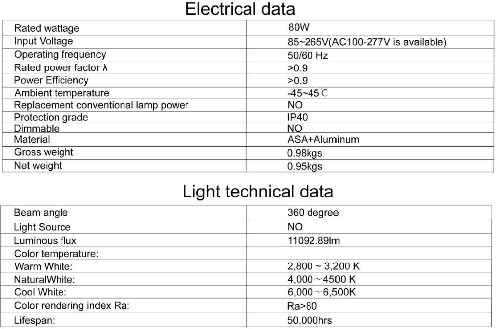 Führte Maisbirne Licht 80 Watt Gleich 500 Watt Glühlampe