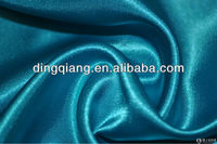 100% Polyester shimmer satin evening dress fabric for Wedding