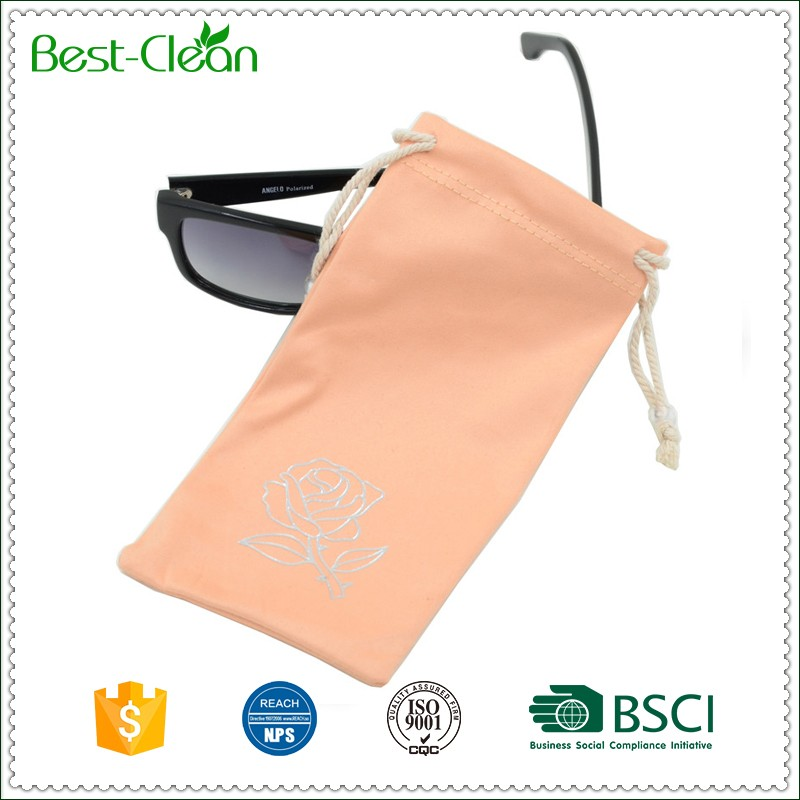 Promotional Hot Stamping With Gold Kids Sunglass Case