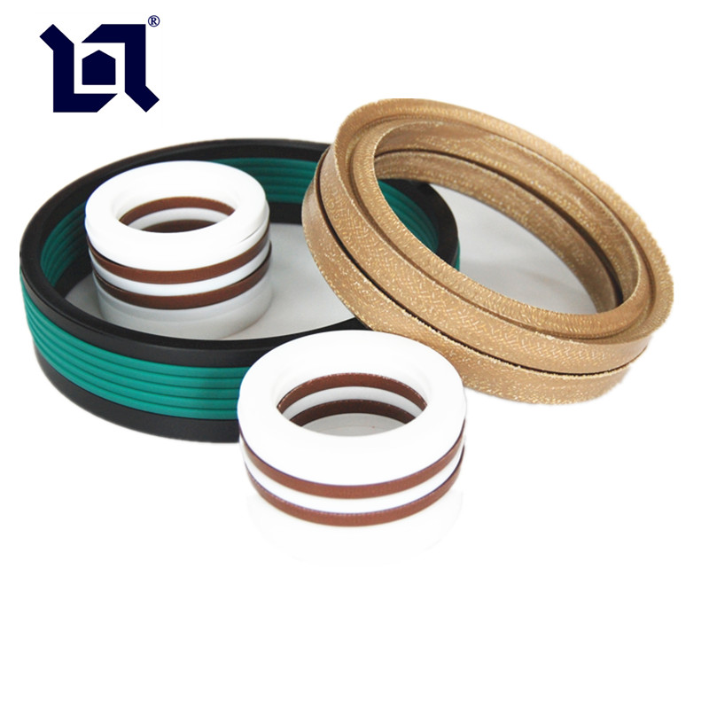 Fabric Reinforced Chevron Seals For General Service and High Pressure Application