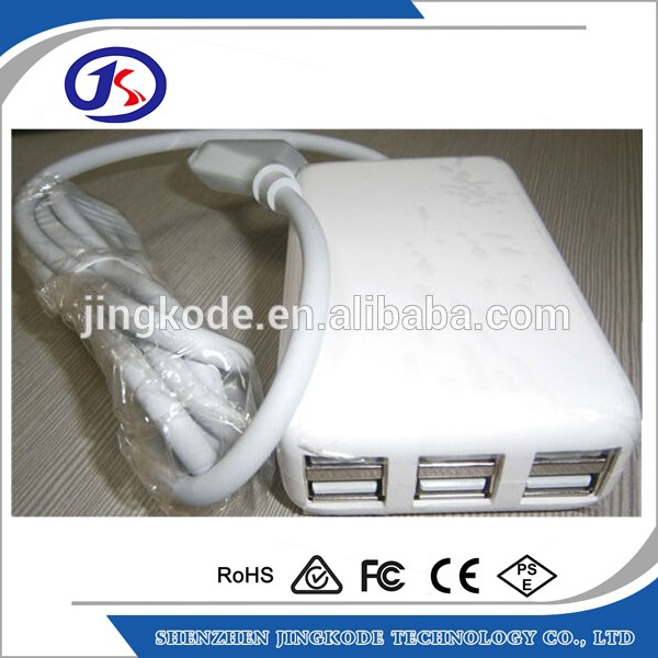 EU/AU/US/UK plug multi port usb charger voor iphone