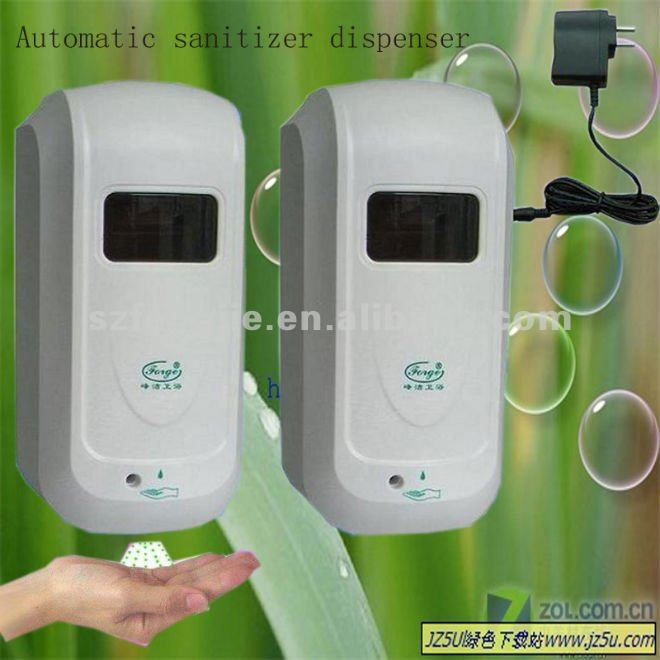 wall mounted battery powered hand sanitizer dispenser for hospital