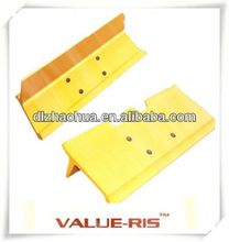 Good quality undercarriage parts komatsu rubber track pad
