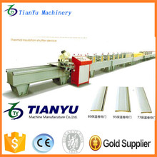 Automatic galvanized steel plate roller shutter door frame cold roll forming machine competitive price made in China