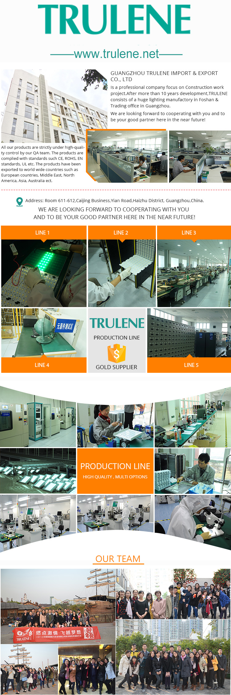 trulene led light