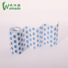 Latex free colored veterinary cohesive elastic self adhesive bandage latex free