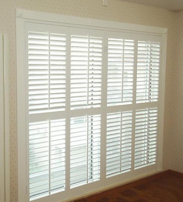 European style stylish wood jalousie windows aluminum - European exterior window shutters ...