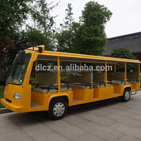 Electric Sightseeing Shuttle Bus