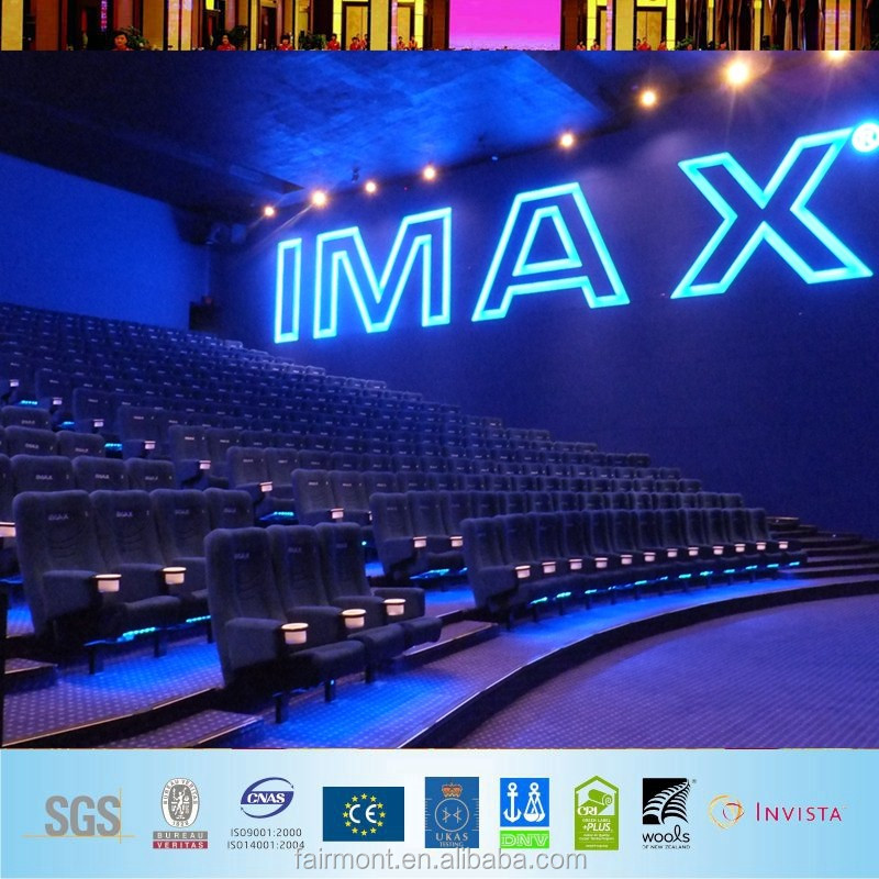 Wall to Wall Fireproof Fire Resistant Nylon Printed Carpet for Cinema