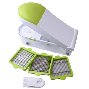 Plastic Fruit Cutter Slicer Chopper & Container