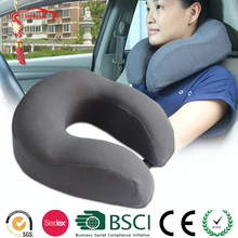 Promotion Comfortable Folding U Shape Memory Foam Car Neck Support Pillow