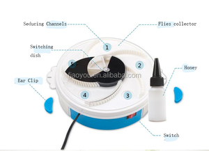 Environmental fly catching trap machine/fly killer machine