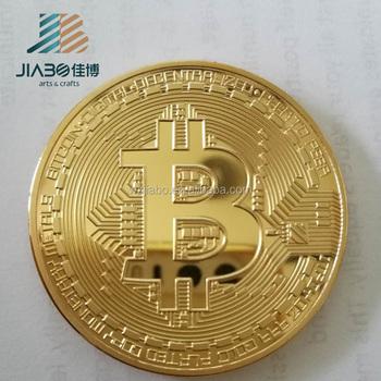 China Fabrik Nach Maß Vergoldung Bitcoin Münzen Für Großhandel Buy
