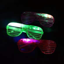 fashion colorful party flashing led light up glasses for concert