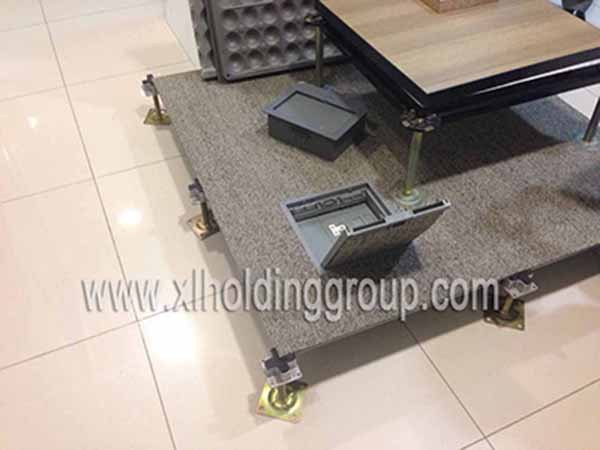 Electrical Outlet Floor Box For Raised Access System