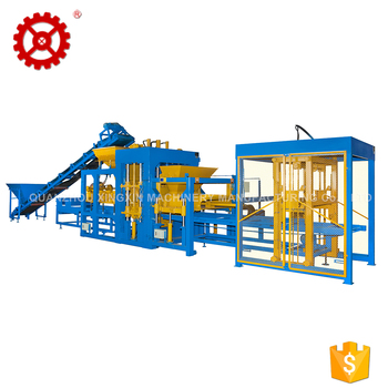 Fully Automatic Paving Hollow Brick Concrete Block Making Machine
