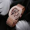 luxury crystal case watches,rose gold winner watch accessories(PW191)