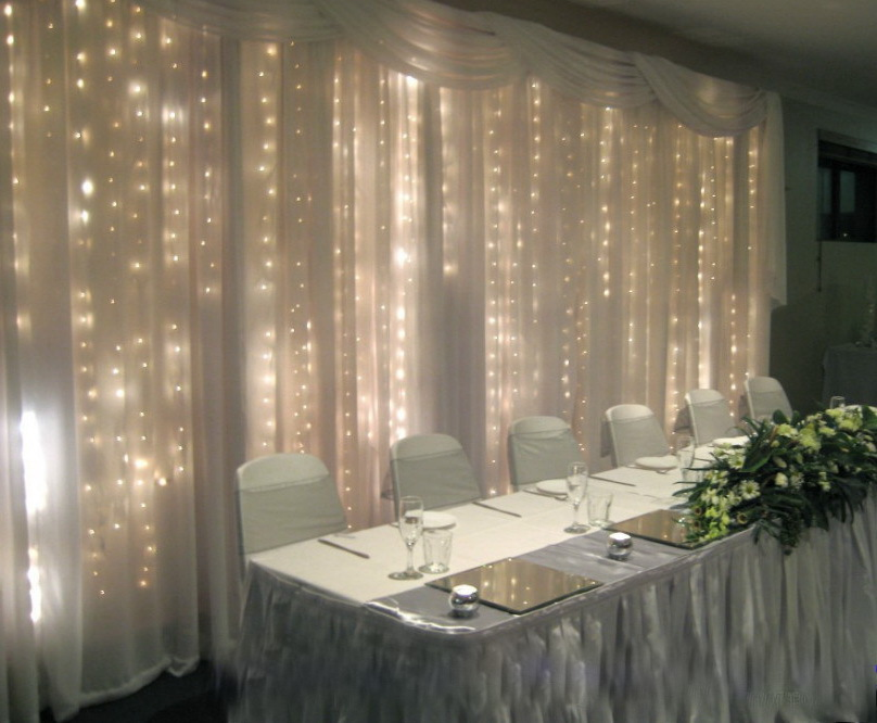 black pvc wire 2mx2m indoor christmas wedding warm white led fairy curtain lightjpg
