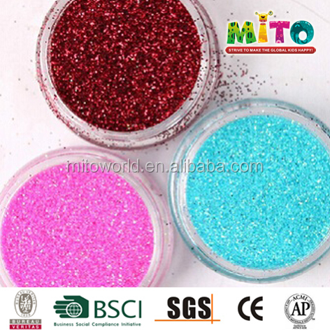 more colors non-toxic glitters for eyes