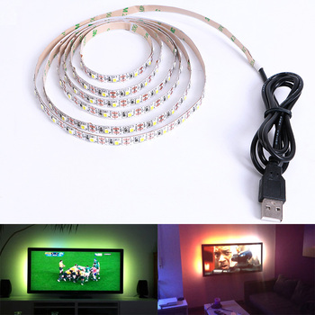 50cm 4m Flexible Led Tape 2m Buy Strip 3m 5v Lighting Usb Light Tv Smd Background Strip 5m Led 3528 1m Led Smd Adhesive Usb Rgb Dc Lamps Light OPk8wn0