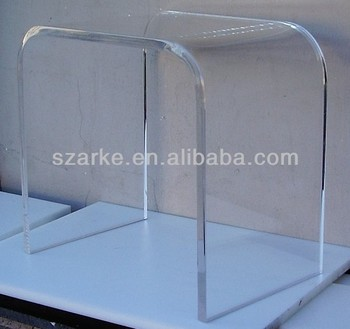 2017 Premium Clear Acrylic Side Table With Simple Design For Reading Desk  Or Coffee Table Part 59