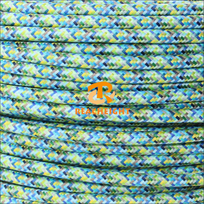 Vde Ul Listed Copper Wire Fabric Wire Textile Cable Wire ...
