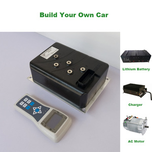 96V 10KW Electric Vehicle AC Motor Controller