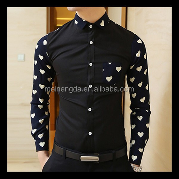 promotion latest products in market high quality batik men's shirts
