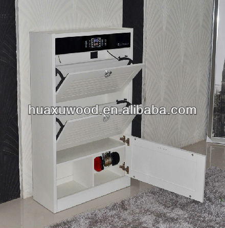 Intelligent electronic plate type shoe cabinet